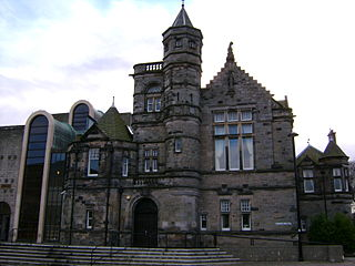 Kirkcaldy Sheriff Court. Copyright user:kilnburn